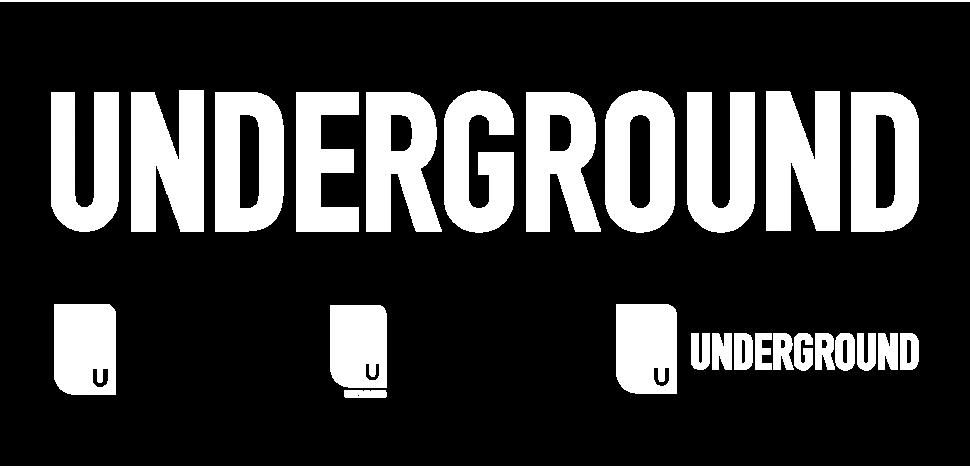 Underground Atlanta Logo Variations