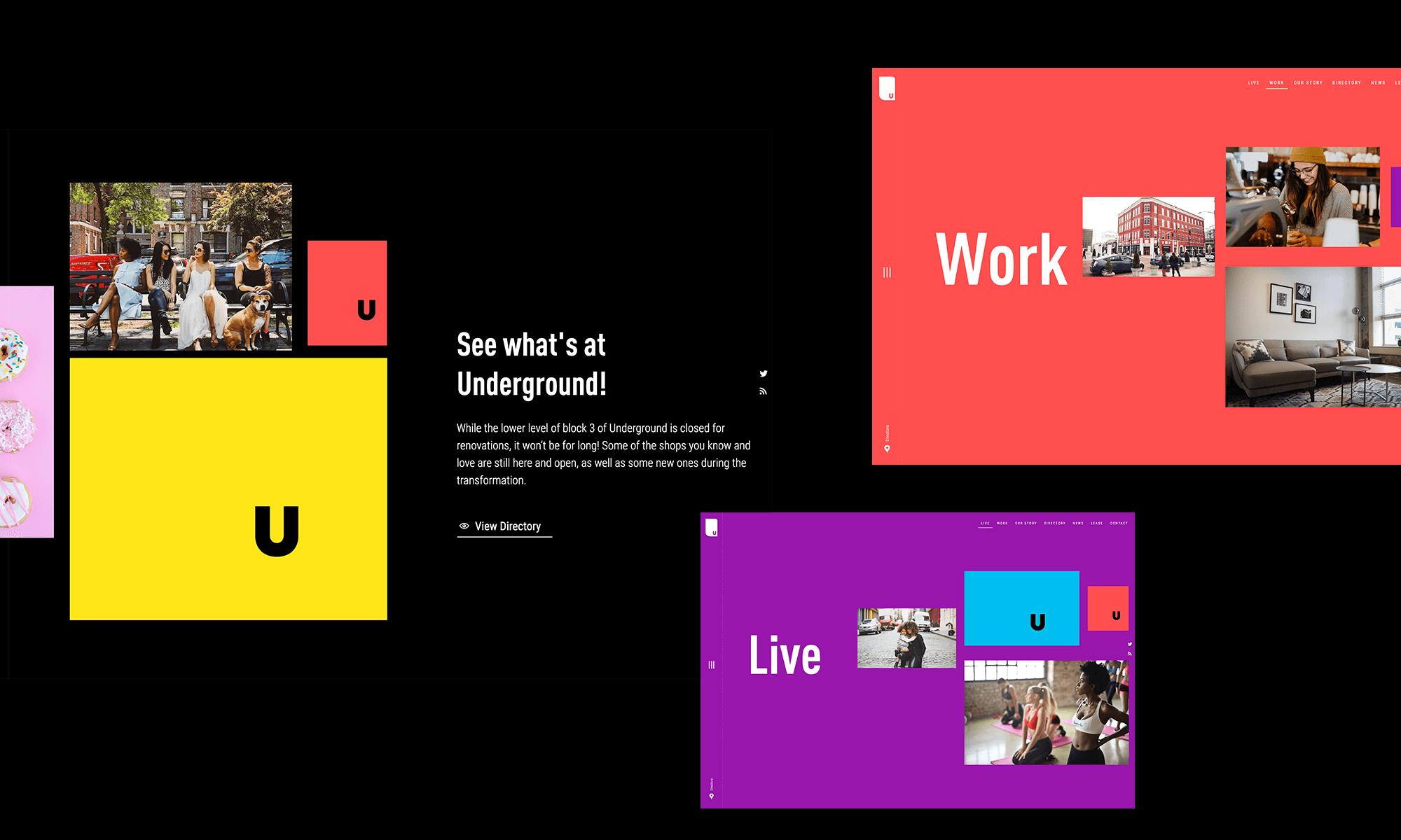 Underground Atlanta Website