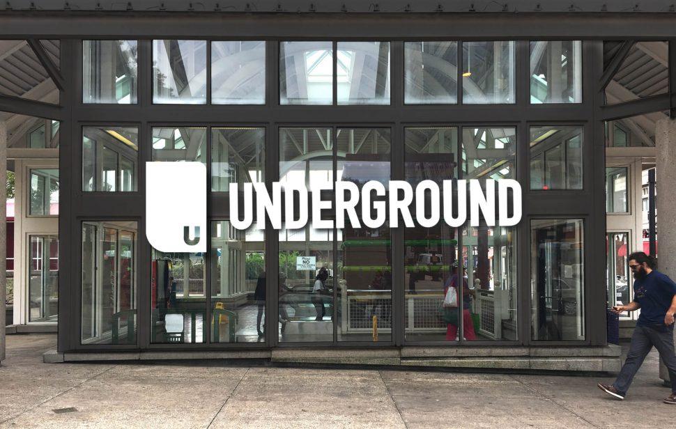 Underground Exterior Signage