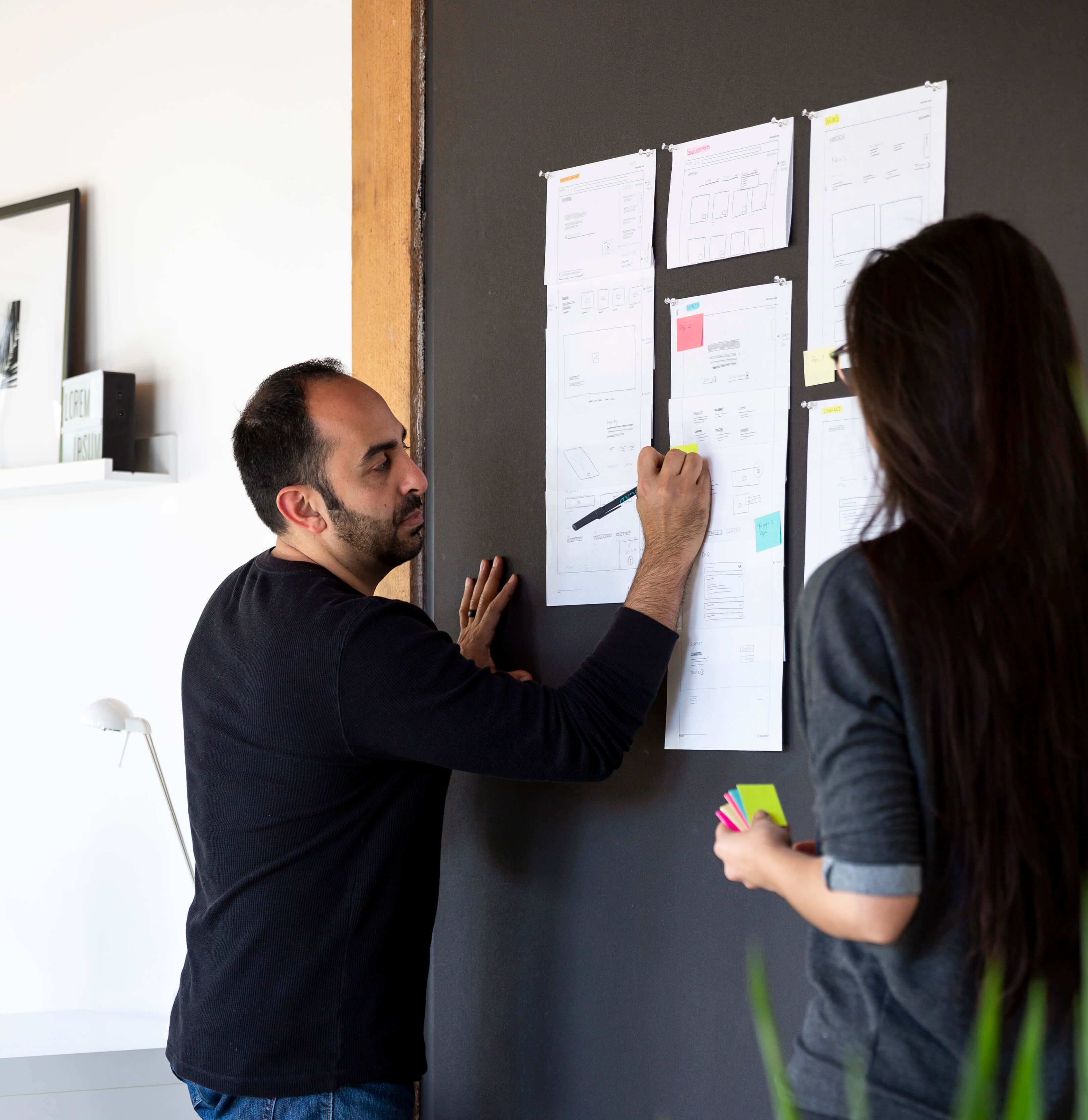 Visual Soldiers UX Design