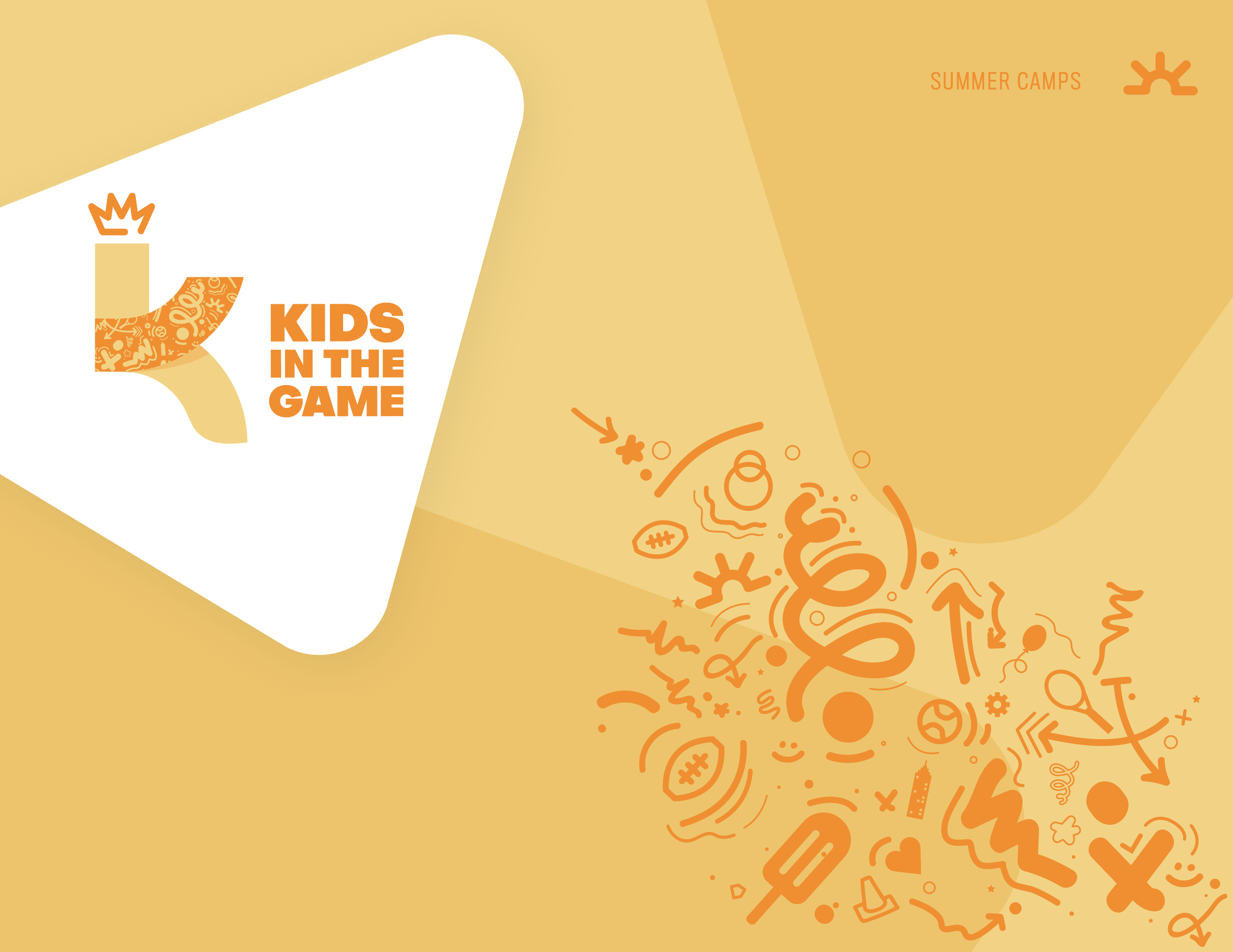 Summer camp brand design