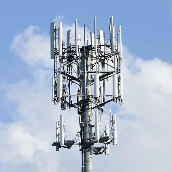 Large wireless pole