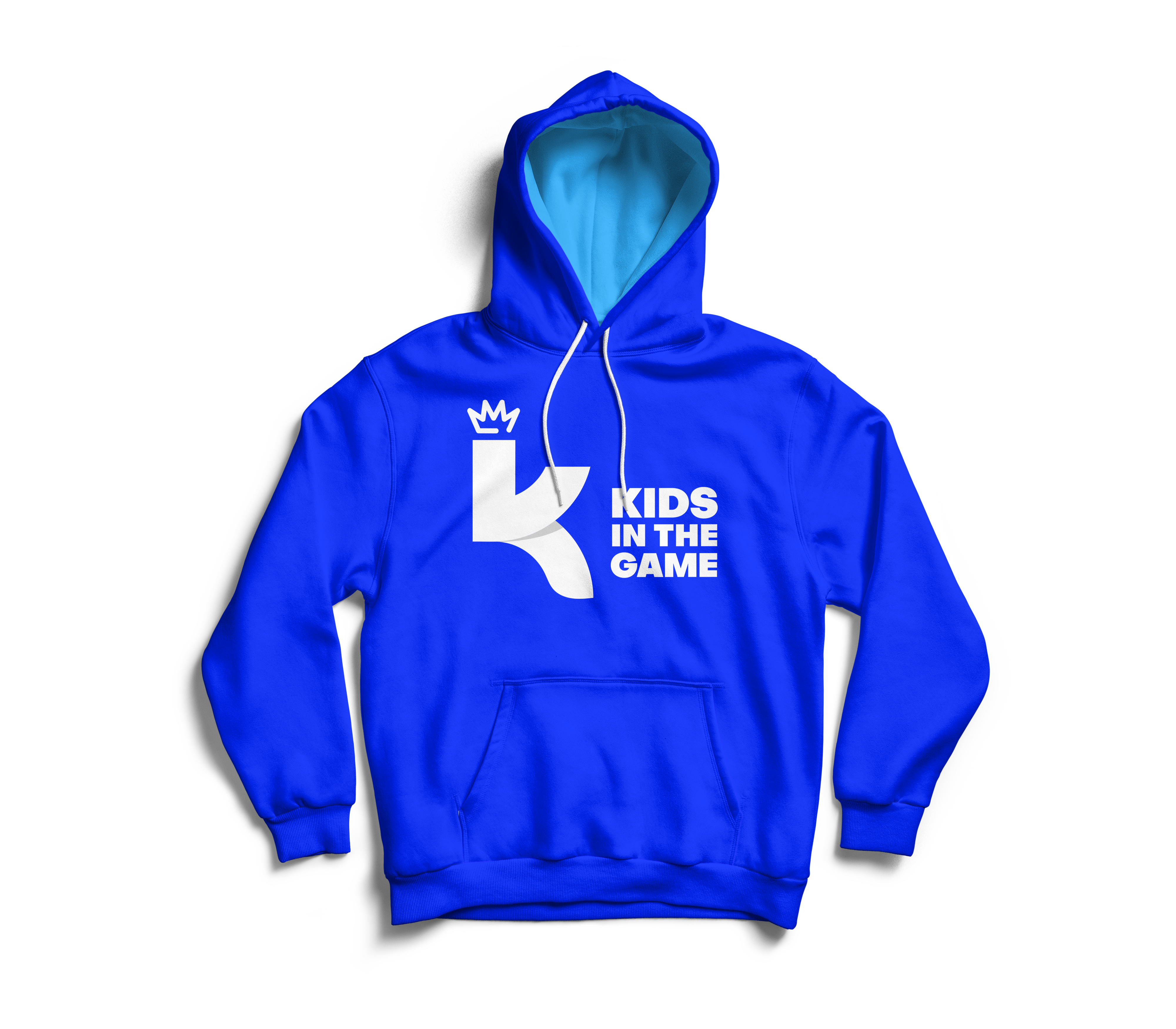 Sweatshirt design for Kids in the Game